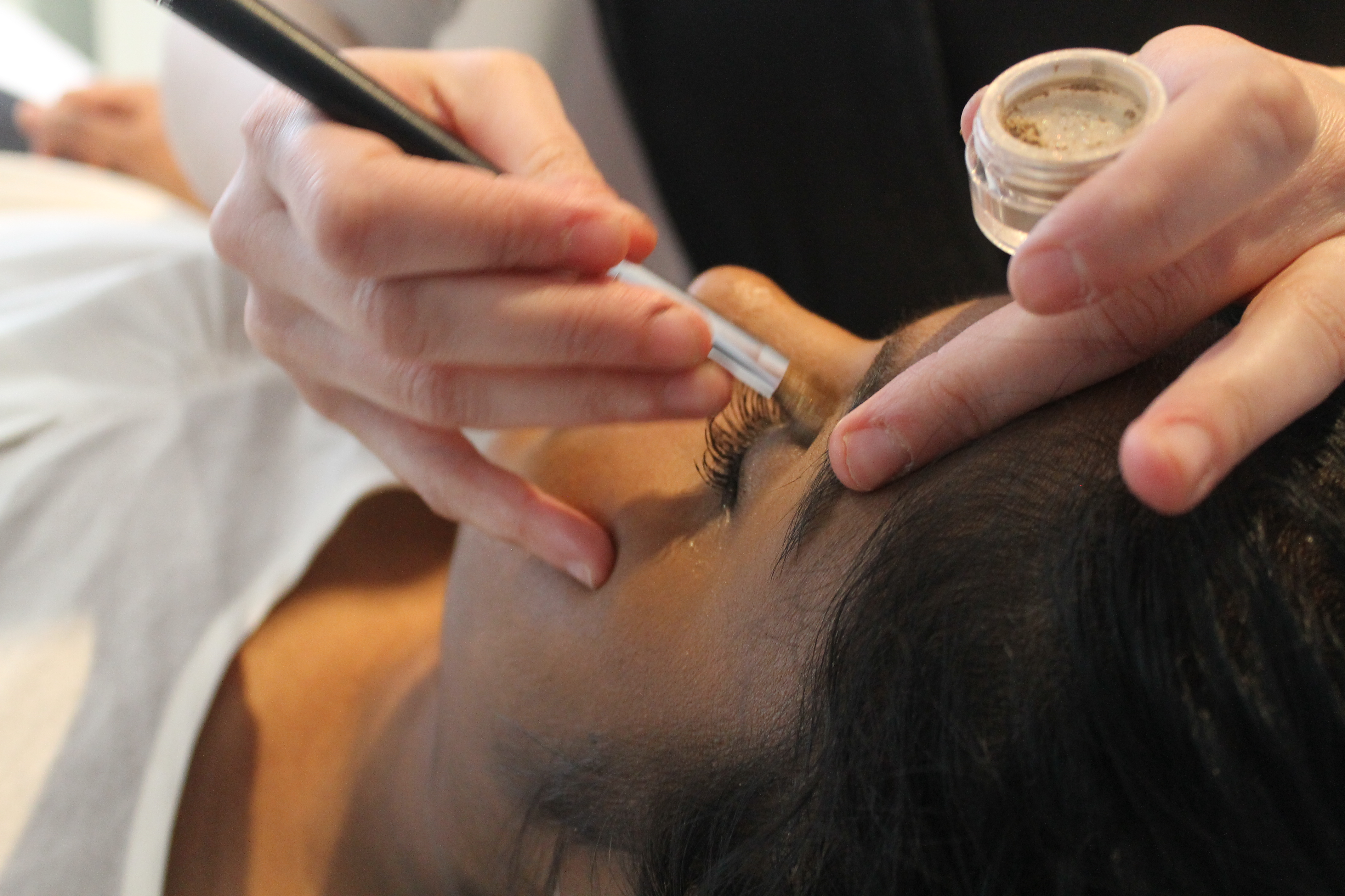 Institut Perle de Soie, maquillage fard à paupière
